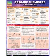 BarCharts 9781423228172 Organic Chemistry Fundamentals Quickstudy Easel