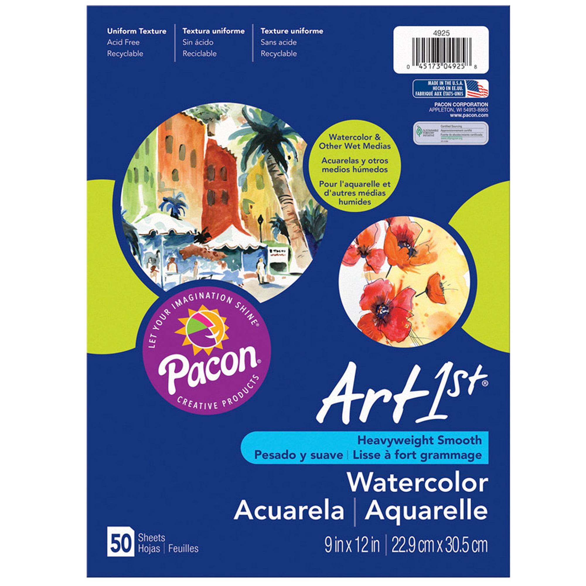 "Art1st® Watercolor Paper, 12"" x 18"", White, 50 Sheets"