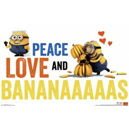 Minions - Bananas Poster Print (36 x 24) - Walmart.com