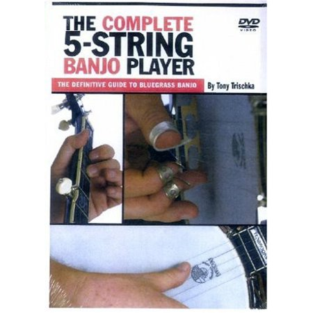 The Complete 5 String Banjo Player (DVD) Banjo Style Dvd