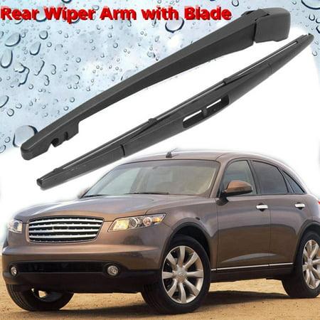 Rear Wiper Blade With Arm Window Windscreen For Infiniti FX 35 FX45 2003-2008  - image 9 de 9