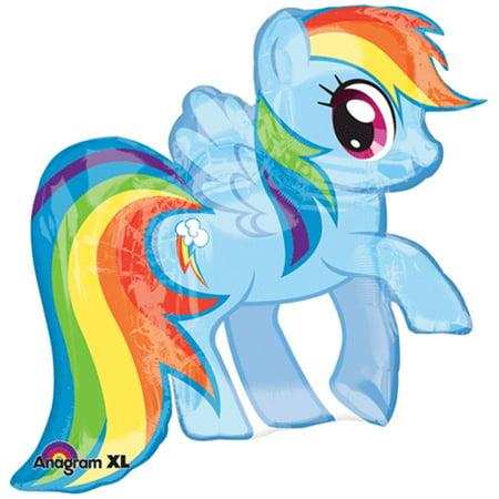 My Little Pony Rainbow Jumbo Foil Balloon 28