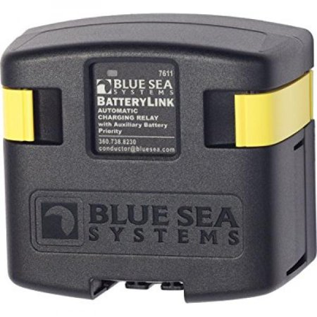 Sea Systems Automatic Charging Relay (Blue Sea Systems BatteryLink 12V/24V DC 120A Automatic Charging Relay )