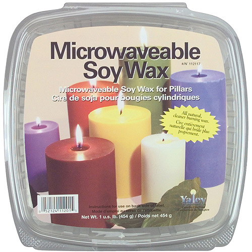 Yaley Microwaveable Soy Wax, 1 lb, Pillars & Votives