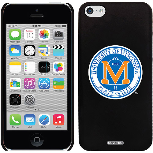 Wisconsin Platteville Seal Design on Apple iPhone 5c Thinshield Snap-On Case by Coveroo