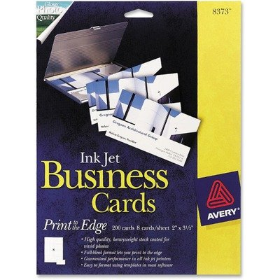 Inkjet glossy business cards 2 x 3 12 white 8sheet 200box inkjet glossy business cards 2 x 3 12 white 8sheet 200 reheart Images