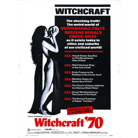Witchcraft '70 POSTER Movie Mini - Halloween Documentary