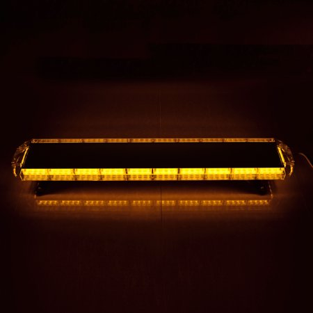 Magnetic Tow Lights - Completed Set 47 Inch 88-LED Amber Warning Emergency Car Tow Truck Plow Response Strobe Light Bar