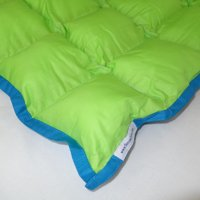 SensaCalm Jasmine Green w/ Teal Blue - Small 7 lb Weighted Blanket