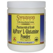 Swanson L-Glutamine Powder - Featuring Ajipure 12 oz Powder