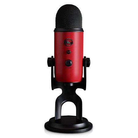 - Blue Microphones Yeti Nano premium USB Mic for Recording & Streaming-in Red Onyx
