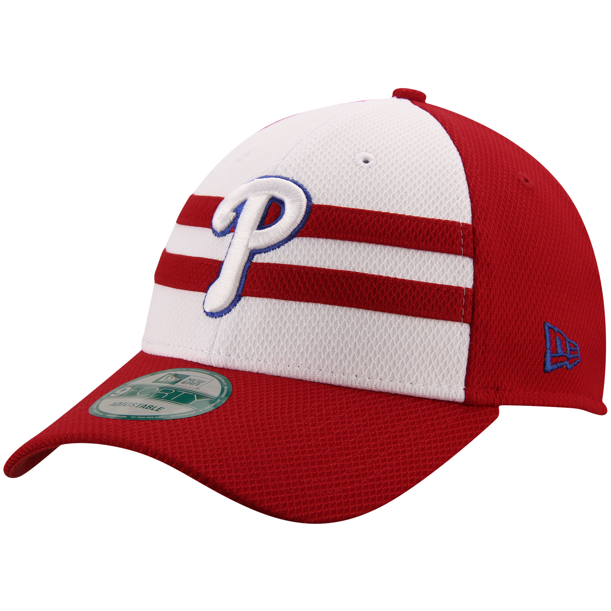 Philadelphia Phillies New Era 2015 MLB All-Star Game 9FORTY Adjustable Hat - White/Red - No Size