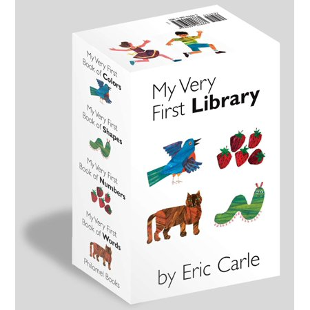 My Very First Library : My Very First Book of Colors, My Very First Book of Shapes, My Very First Book of Numbers, My Very First Books of Words - Number Book