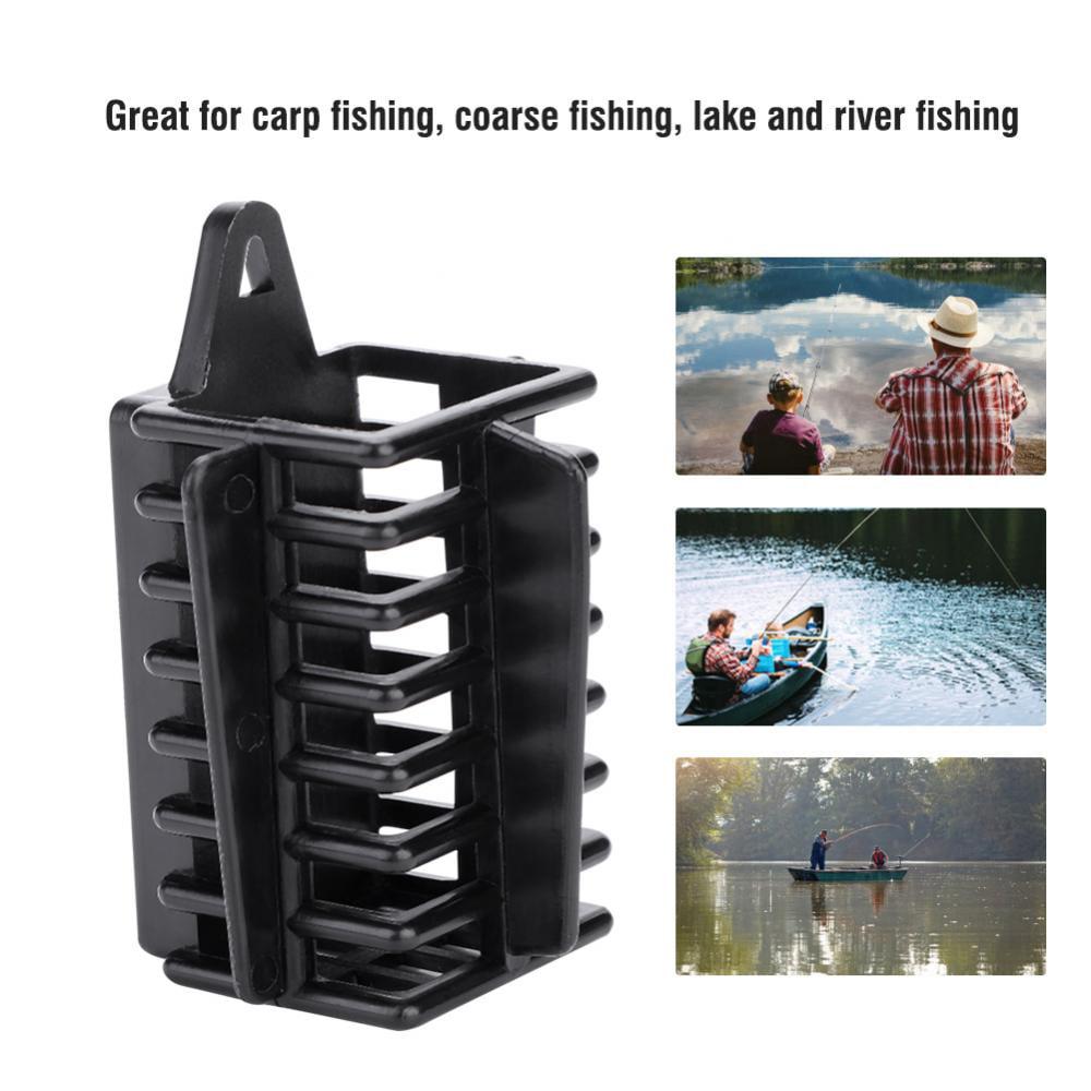 70g Carp Fishing Feeder Bait Cage Lure Holder Basket Trap Lead Sinker Tackle HOT