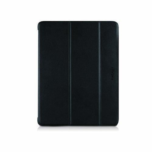 iPad Case - iPad - Black, Gray - Faux Leather - Macally bookstand3