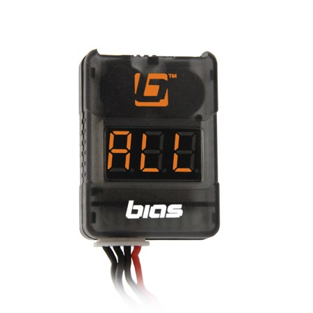 Bias Low Voltage Monitor/Alarm with LCD Display for 2S 3S 4S 5S 6S 7S 8S RC LiPo