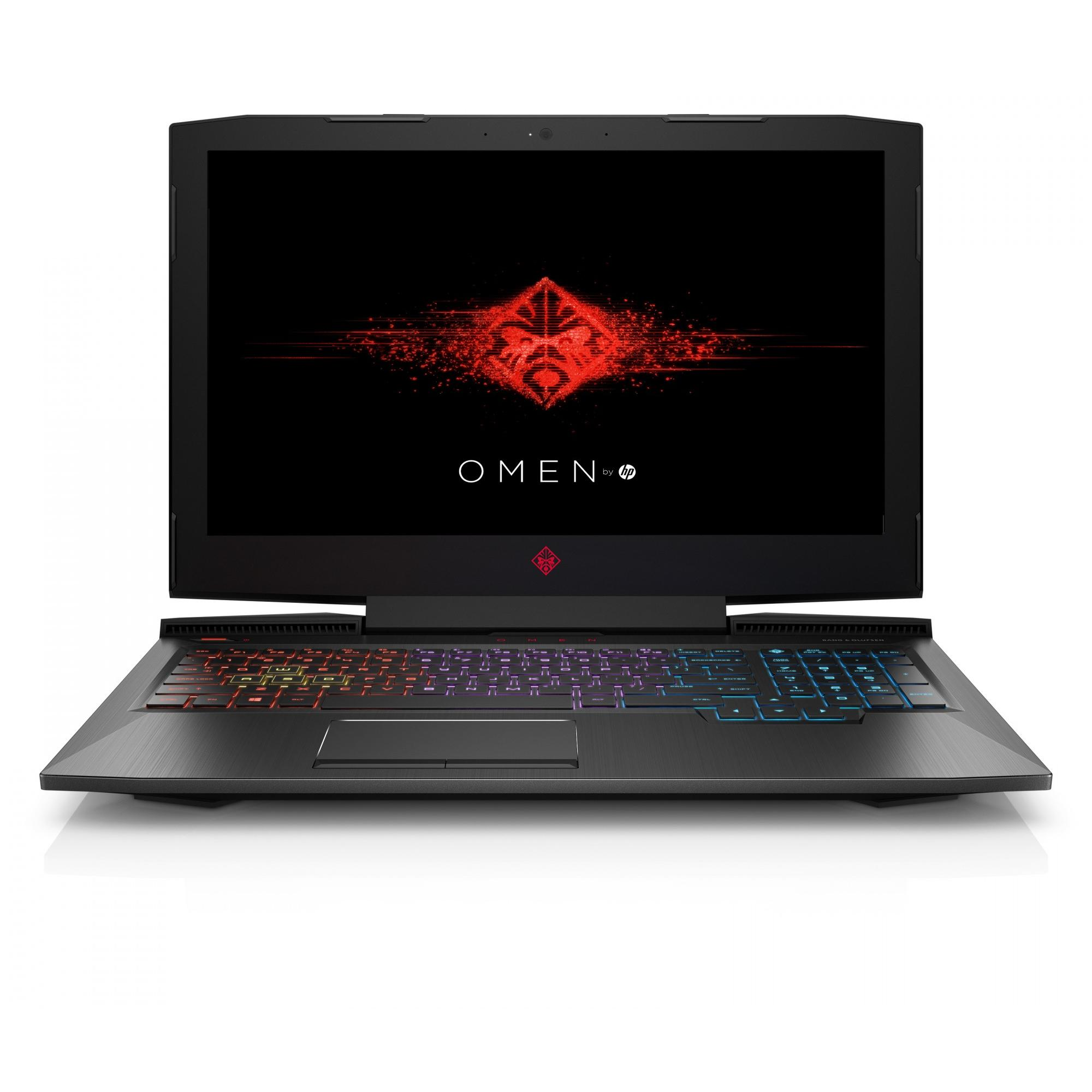 HP Omen Gaming Laptop 15.6� Full HD, Intel Core i7-8750H, NVIDIA GeForce GTX 1060 Graphics, 1TB HDD + 256GB SSD, 16GB... by HP