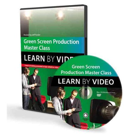 Green Screen Production Master Class  Learn By Video