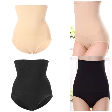 Dilwe 2 Colors Breathable Women High Waist Slimming Tummy Underwear Shaping Panties Underpant,Women Panties, Women Briefs