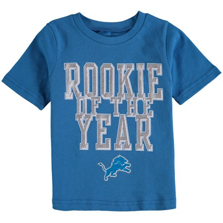 Detroit Lions Toddler Rookie-Of-The-Year T-Shirt - Blue