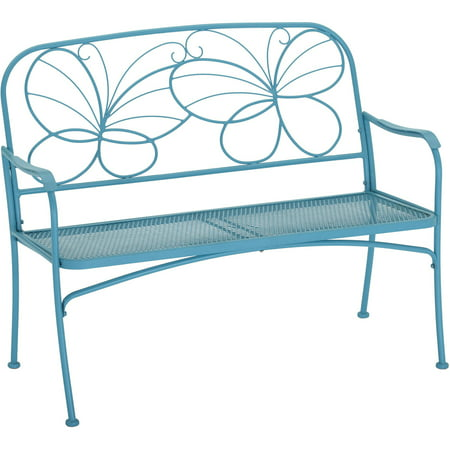 Mainstays Butterfly Outdoor Patio Bench ()