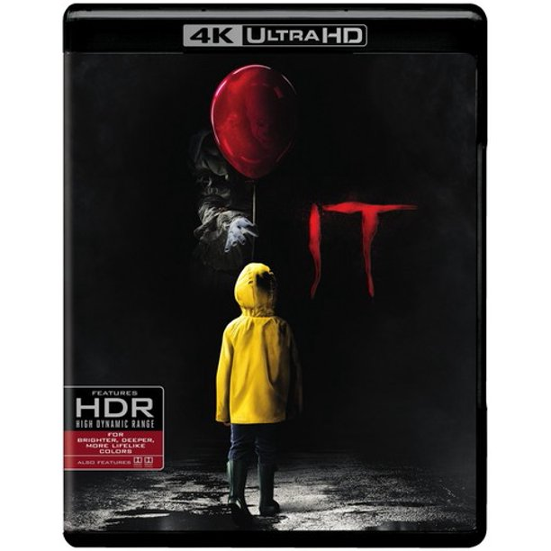 It (4K Ultra HD + Blu-ray + Digital Copy)