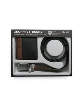 Geoffrey Beene Reversible Belt and Wallet Gift Set