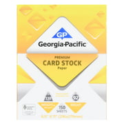 Business cards paper walmart georgia pacific white cardstock paper 85 x 11 110 lb reheart Images