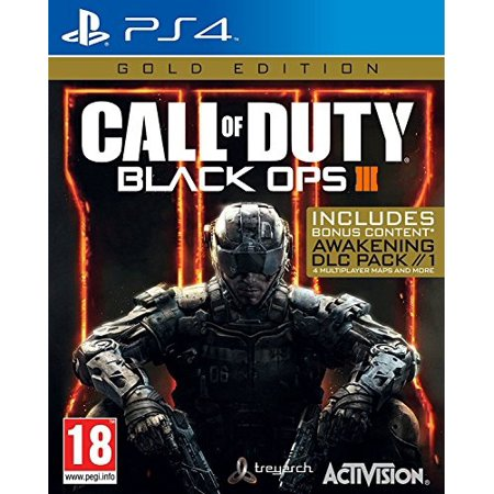 Call of Duty Black OPS III 3 Gold Edition (Playstation