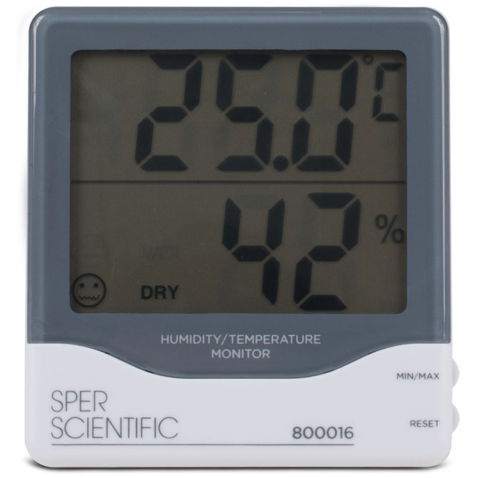 Sper Scientific Digital Humidity / Temp Monitor