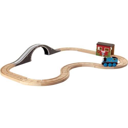 Thomas Wooden Railway Up and Around Sodor 5-in-1 Set