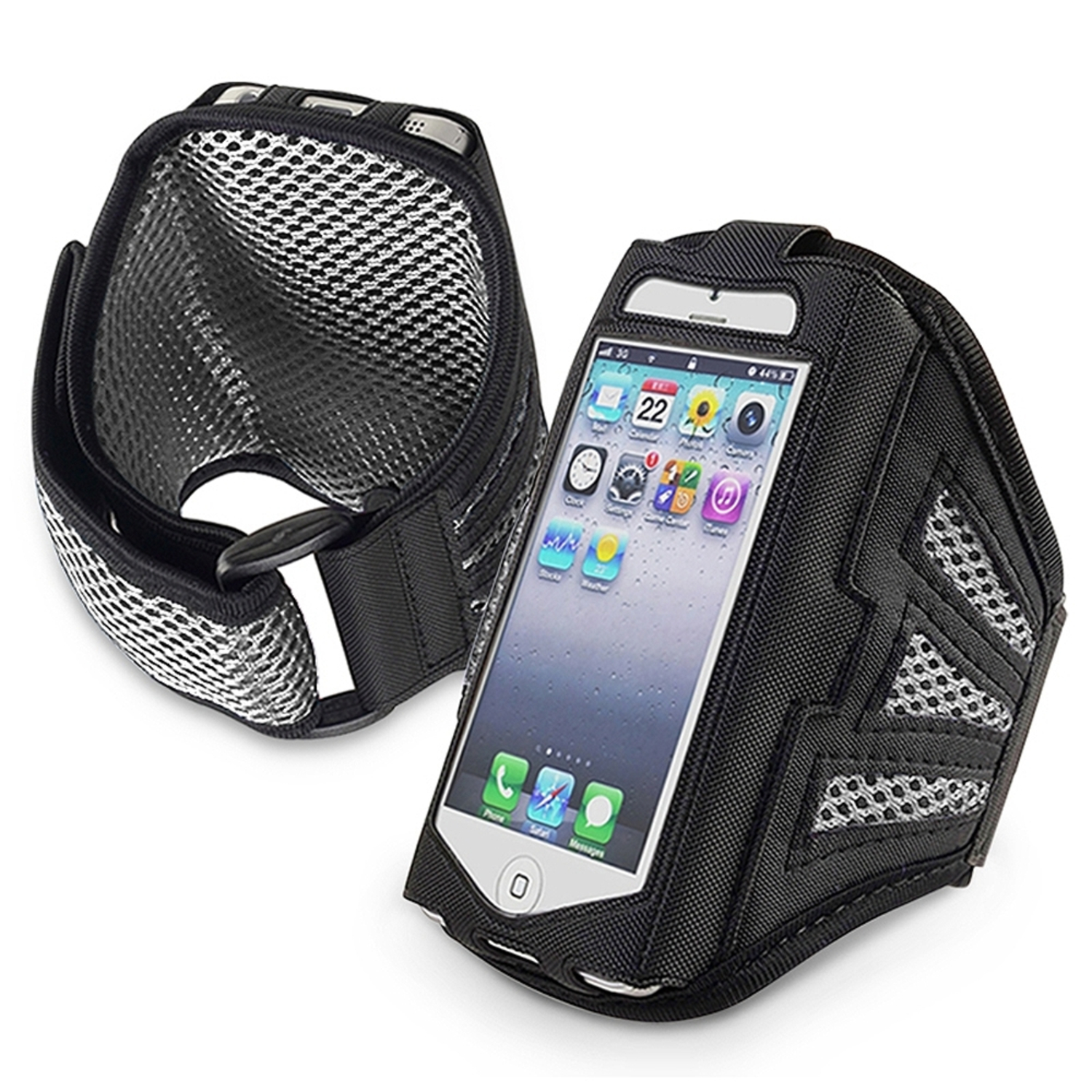 Insten Sports Running Workout Gym Armband Case Holder Pouch For iPhone SE 5 5S 5C / iPod Touch 6th 6G 5th 5G
