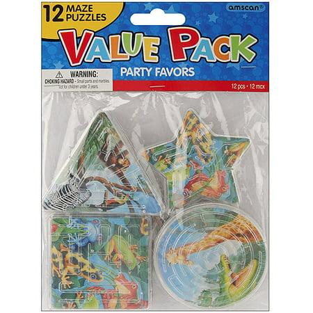 Party Favors, 12-Pack, Rainforest Friends Puzzles 3rd Party Rail Kit