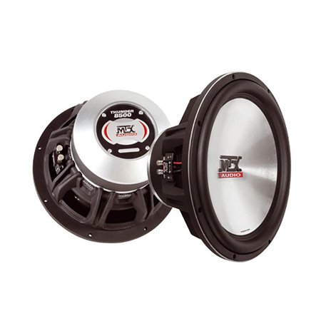 """MTX T8515-44 15"""" 1200 W Max Dual 4 Ohm Car Stereo Subwoofer by"""