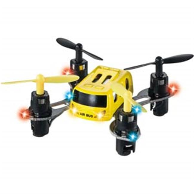 Microgear EC10393-Yellow 2.4G Radio Controlled RC MX-369 Mini Quadcopter by