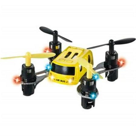 Microgear EC10393-Yellow 2.4G Radio Controlled RC MX-369 Mini Quadcopter