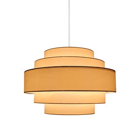 Palladio Silk - Urbanest Palladio 5-Tier 1-Light Pendant