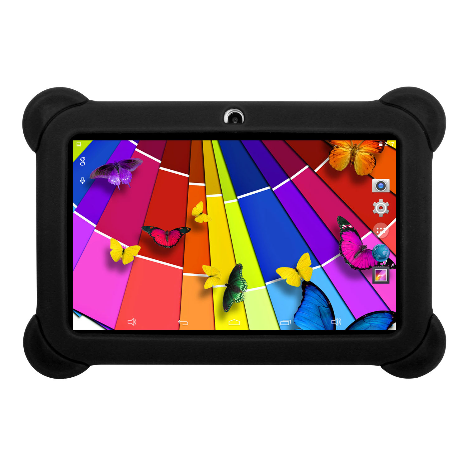 KOCASO DX758 7-Inch Quad-Core Android Kids Tablet - Black