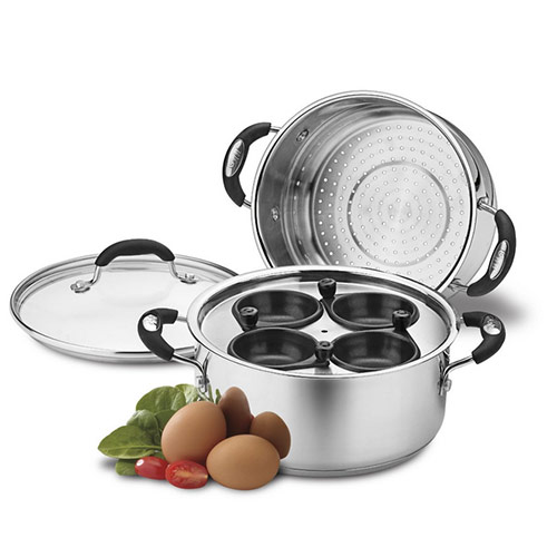 Weight Watchers WWS4-420MS Egg Poacher / Multi-Steaming Set