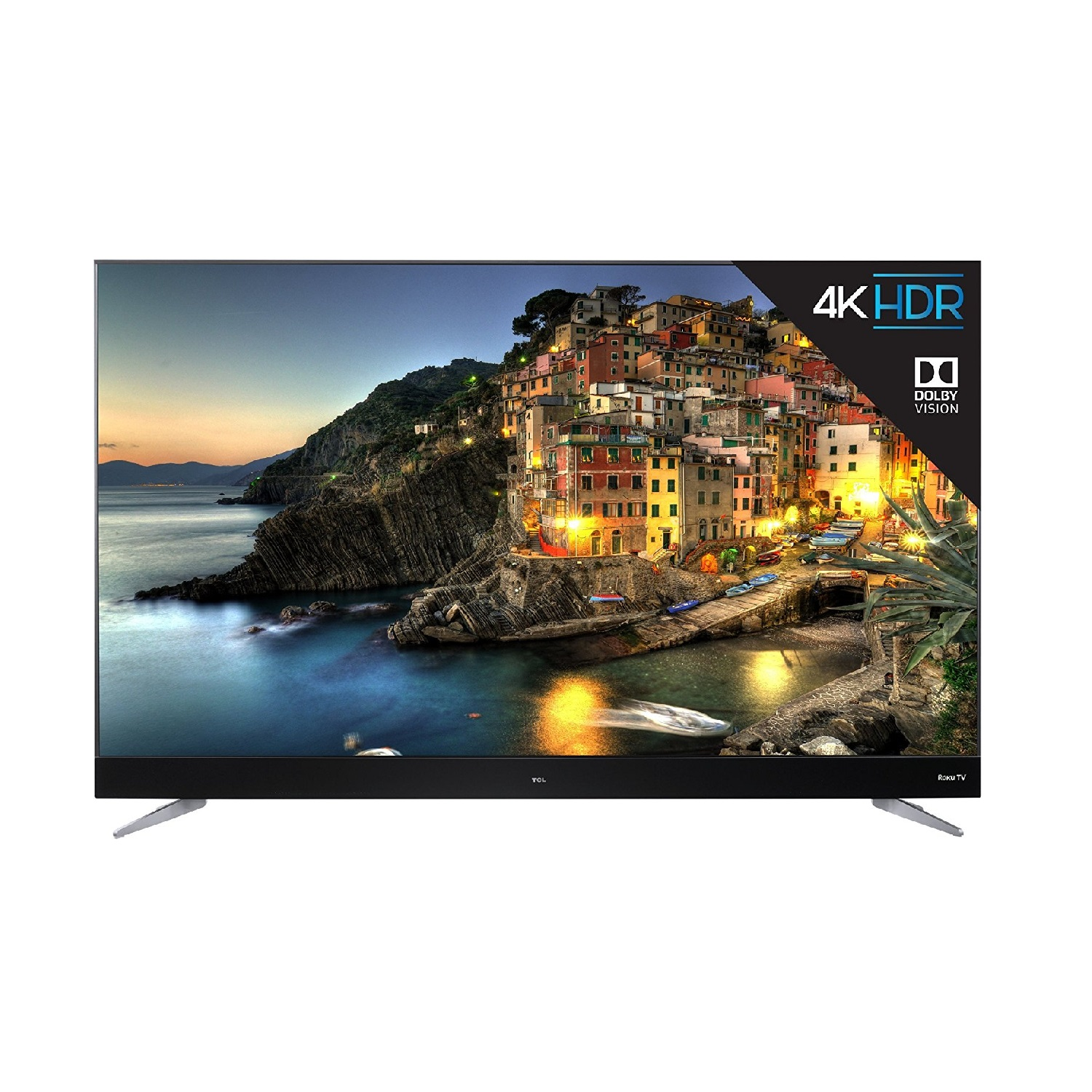 """TCL 65"""" Class 4K (2160P) Dolby Vision HDR Roku Smart LED TV (65C807)"""