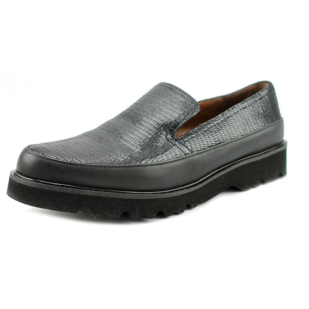 Donald J Pliner Coco Round Toe Leather Loafer by Donald J Pliner