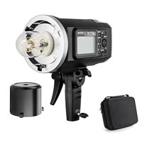 Godox AD600BM Bowens Mount 600Ws GN87 High Speed Sync Outdoor Flash Strobe Light with 2.4G Wireless X System, 8700mAh Ba