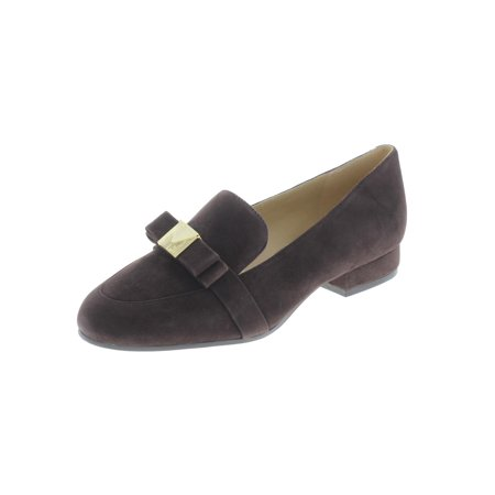 Michael Kors Leather Loafers (MICHAEL Michael Kors Womens Caroline Suede Padded Insole Loafers )