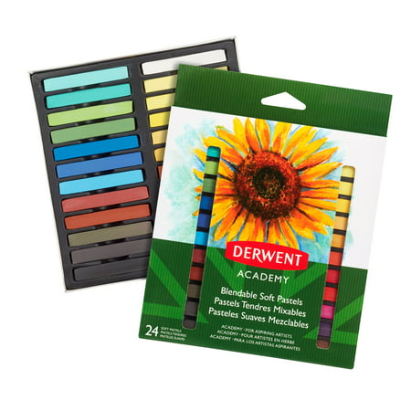 Derwent Academy Soft Pastels, 24 Pack (98216)