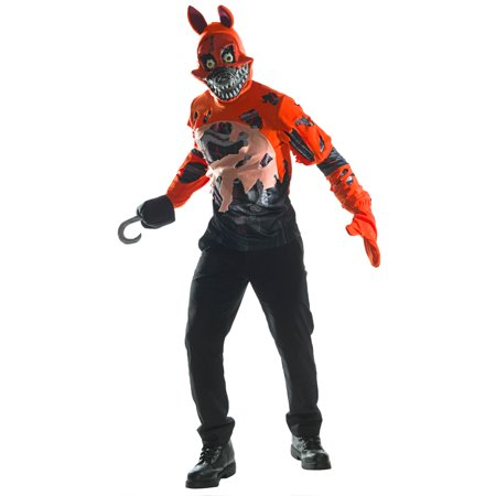 Five Nights at Freddy's - Nightmare Foxy Adult Costume - Costumes At Walmart