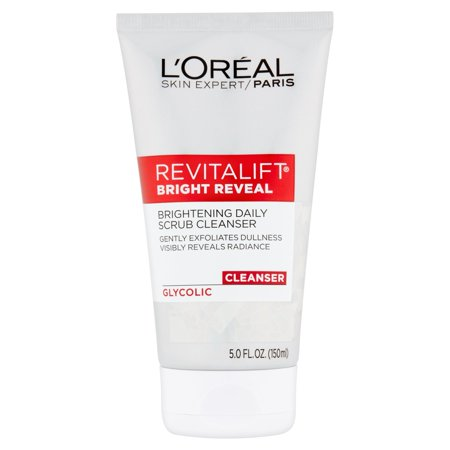 L'Oreal Paris Skin Expert Revitalift Bright Reveal Glycolic Cleanser, 5.0 fl (Best Cleanser And Moisturizer For Dry Skin)