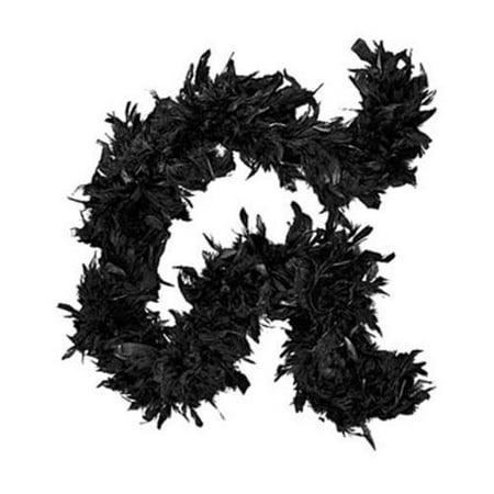 Deluxe Large Black 72 Costume Accessory Feather Boa [Apparel]