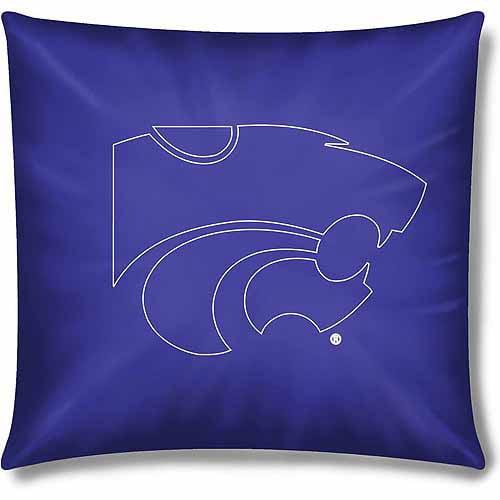 """NCAA Kansas State Wildcats Official 15"""" Toss Pillow, 1 Each"""