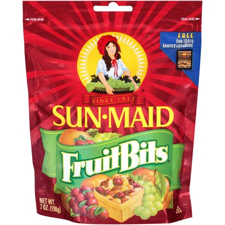 (2 Pack) Sun-Maid Fruit Bits 7 oz. Bag