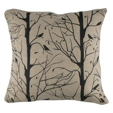 Rizzy Home Trees With Birds Poly Filled Decorative Throw Pillow 40 Delectable Decorative Throw Pillows With Birds